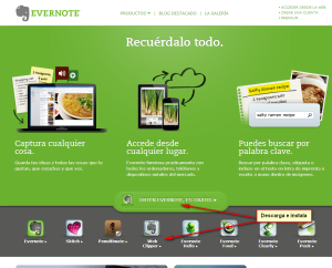 CU0391 Descarga Evernote