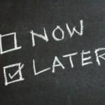 ¿Qué significa procrastinar?